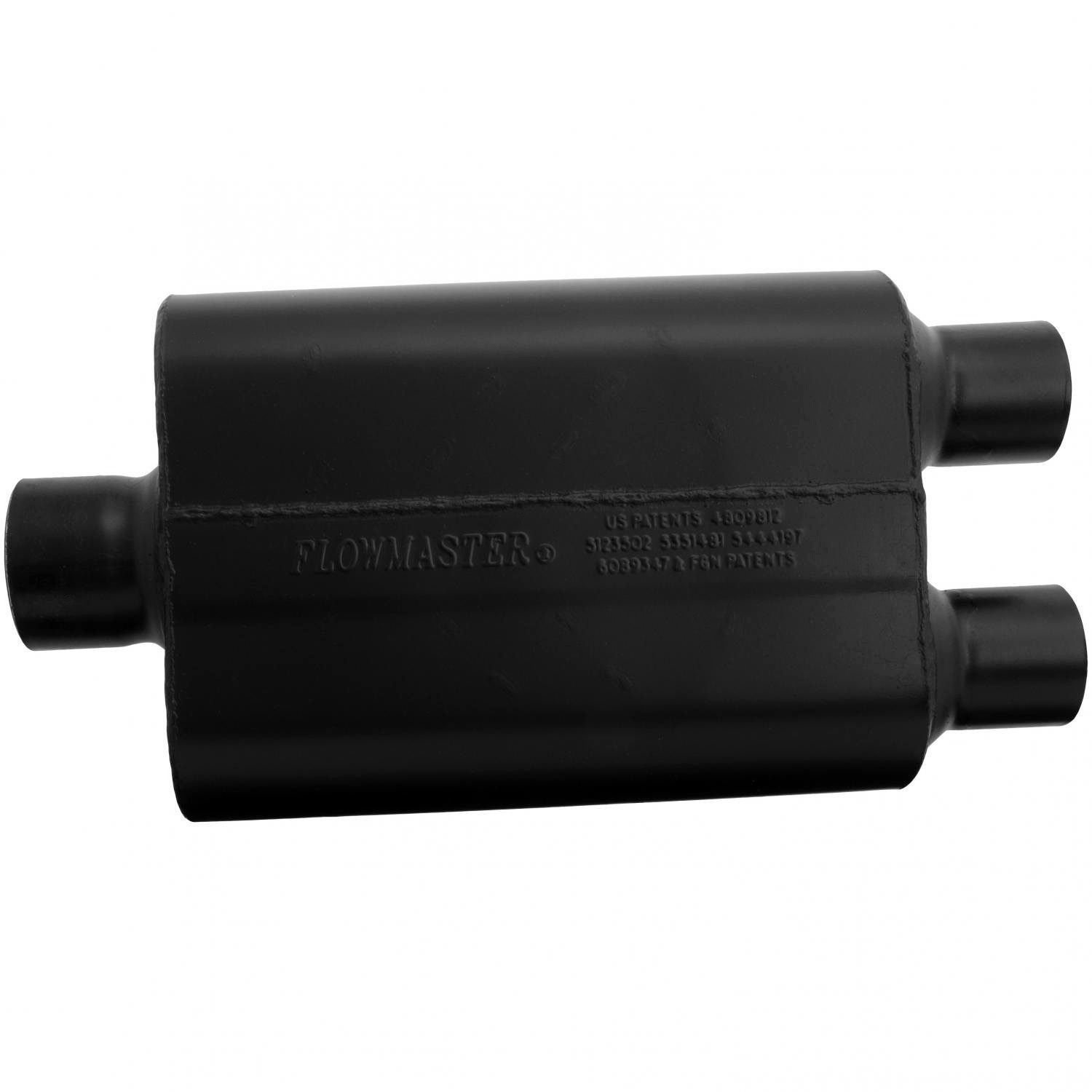 Flowmaster Universal Super 44 Muffler 3.00 Center In//2.50 Dual Out 9430452