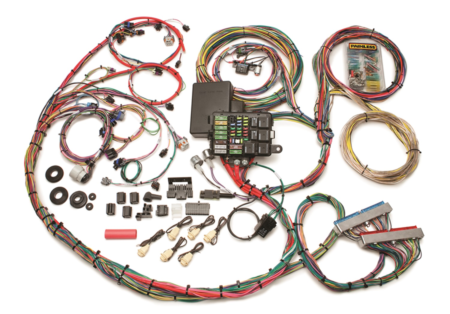 Product List Pispeedshops. Painless 60617 199905 GM Gen Iii 48 5360l Efichassis Harness Manual Throttle. Wiring. Universal Painless Wiring Harness Diagram Electric Fuel Pump At Scoala.co