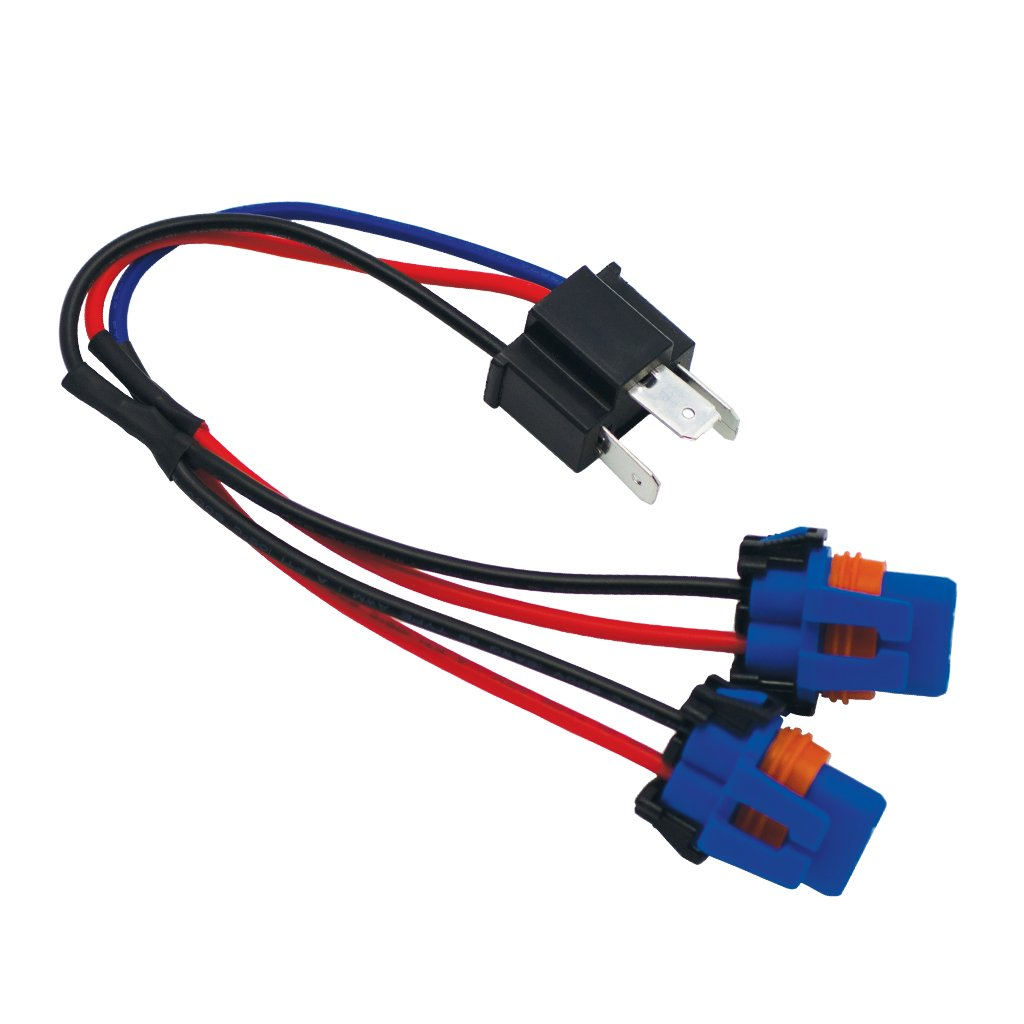 LUMENS H4 Female Connector To 2 Male 9006 Each Pi Speedshops