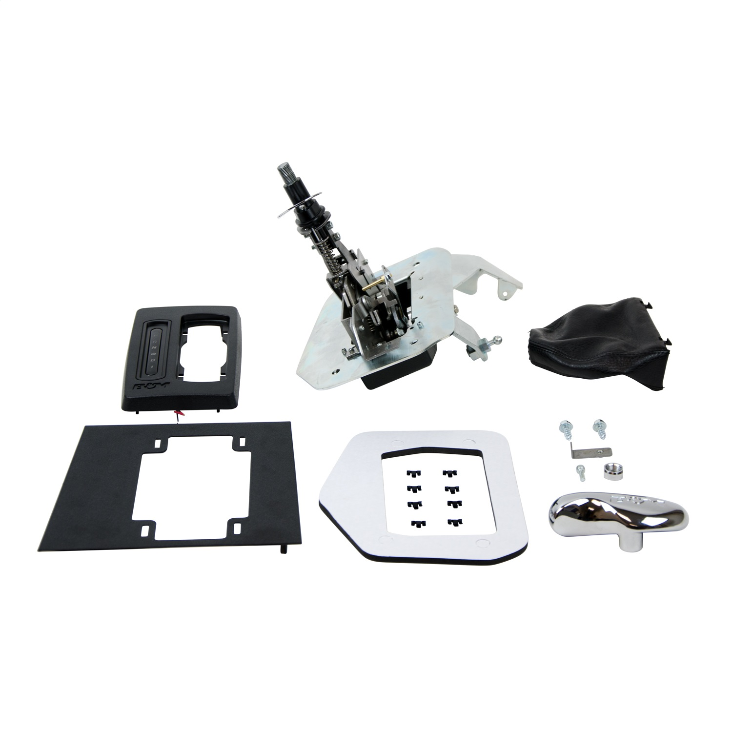 B/&M Hammer Console Shifter for 87-93 Ford Mustang Automatic Transmission 81002