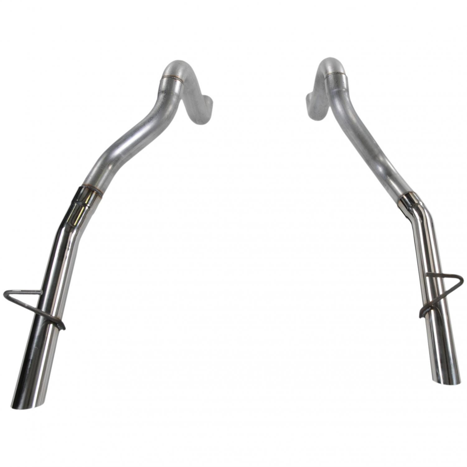 Prebent Tailpipes 2 50 in - Rear Exit, 1 Pair 409S